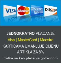 Jednokratno plaćanje karticama