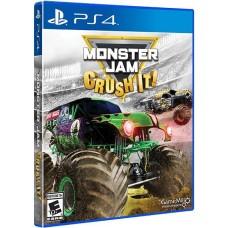 PS4 IGRA MONSTER JAM - CRUSH IT