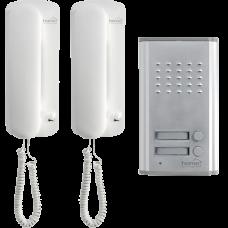 Interfon žični sa dvije unutarnje jedinice DP 012 Home