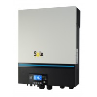 SOLE UNI MPPT MAX 8000VA-48V, regulator 80A (PV-inp.8000W,AC charge 80A)