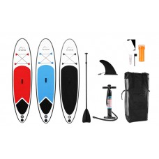Daska za veslanje na napuhivanje Go Venture 10ft iSUP Stand-Up Paddle Board Red