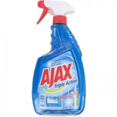 Ajax Triple Action Glass Cleaner 750ml