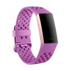 Fitbit charge 3 fitness tracker, berry/rosegold