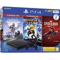 Sony PlayStation 4, 500 GB, 3 igre, 1 controller, 3 mjeseca PS Plus membership