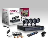 VIDEO NADZOR CCTV 4-KAMERE SA SNIMAČEM